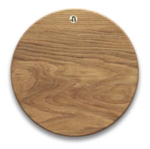 Round White Oak Cutting Board