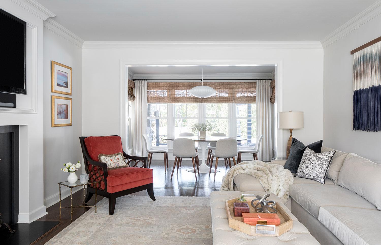 custom livingroom renovation